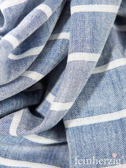 baltic-blue-xl-schal-tuch-silja-blau-weiss-gestreift-baumwolle-und-viskose-mit-gekordelten-fransen-1