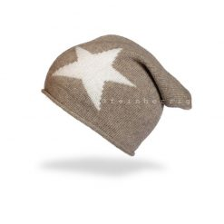 Mütze mit Stern Sternmütze Beanie mit Stern Kurt Kölln Cashmere Schal