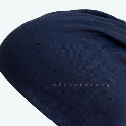 beanie mütze marine dunkelblau
