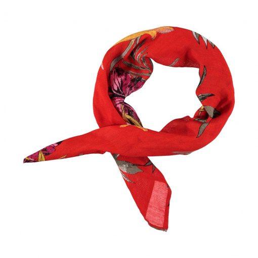 palapas-bandana-nickytuch-halstuch-kopftuch-rot-blumen-floral-quadratisch-2
