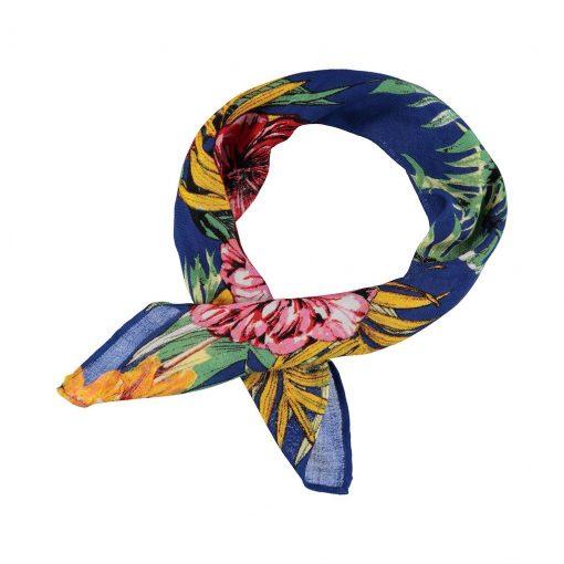 palapas-bandana-nicky-tuch-halstuch-kopftuch-marine-blumen-floral-quadratisch-2