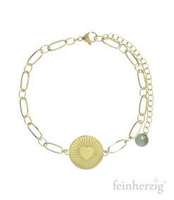 armband-heart-gold
