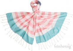 baltic-blue-schal-anna-rosa-tuerkis-pastell-streifen-fransen