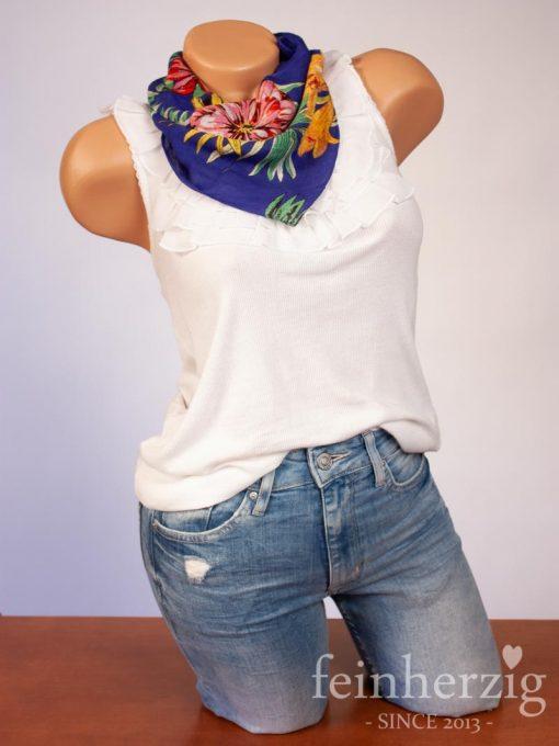 palapas-bandana-nicky-tuch-halstuch-kopftuch-marine-blumen-floral-quadratisch