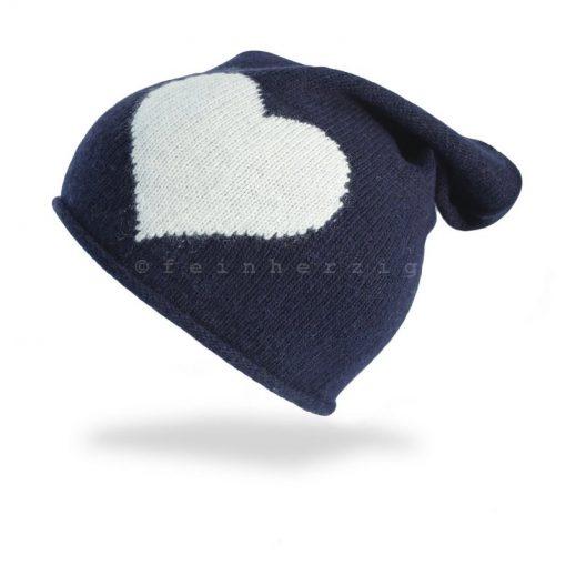 beanie-marine-herz-blau-kaschmir-cashmere-muetze