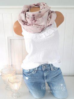 schal tuch seide baumwolle rosa rosen blumen halstuch 2