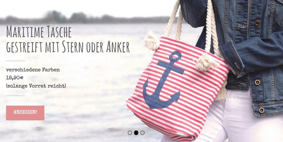 Strandtasche anker
