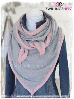 zwillingsherz-dreieckstuch-grau-rosa-kaschmir-zh